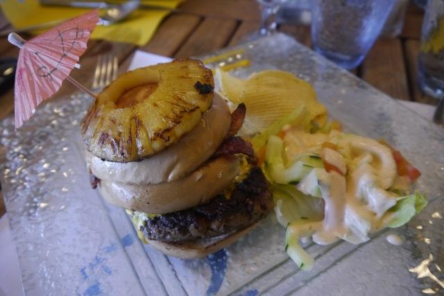 Chef's Burger at Acuatico Resort
