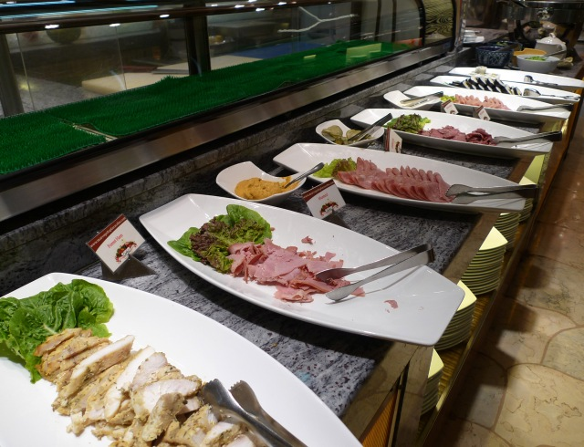 meat overload at marco polo cebu breakfast buffet