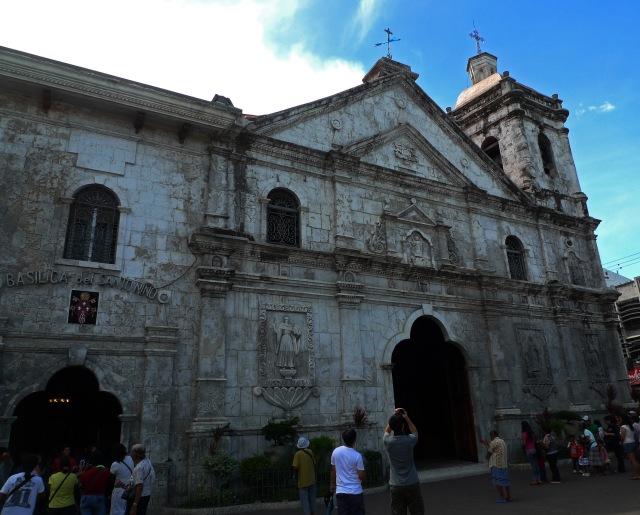 sto nino basílica cebu (The Basilica Minore del Sto. Niño)